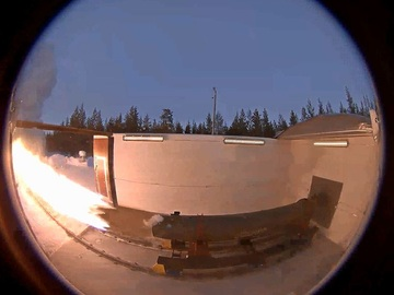 Direct Service: Solid and Liquid Propellant Rocket Motor Test Bed