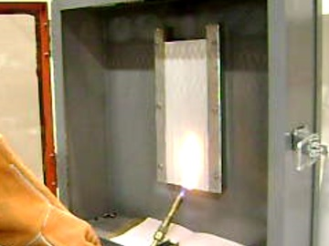 Standard Service: Flammability tests