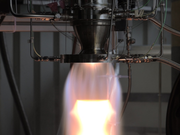 Direct Service: Hot firing chemical thruster test stand (Mono & Bi-Propellant)