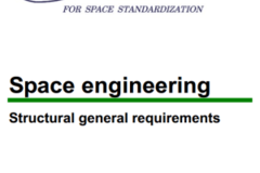 Standard: Space system engineering