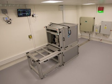 Direct Service: Cobalt-60 gamma free field for component testing